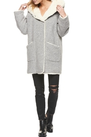 Dex Hooded Faux Fur Jacket - Product Mini Image