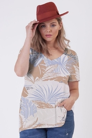 Dex Island Jungle Tee - Front cropped