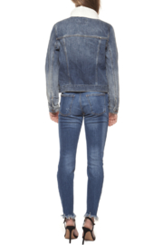Dex Jacket with Sweater Collar - Back cropped