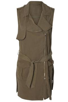 Shoptiques Product: Khaki Army Vest
