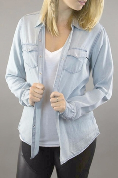 Shoptiques Product: Long Sleeves Chambray Blouse