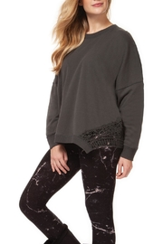Dex Lace Detail Sweatshirt - Product Mini Image