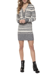 Dex Laceup Sweater Dress - Product Mini Image