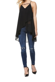 Dex Layered Chiffon Top - Front cropped