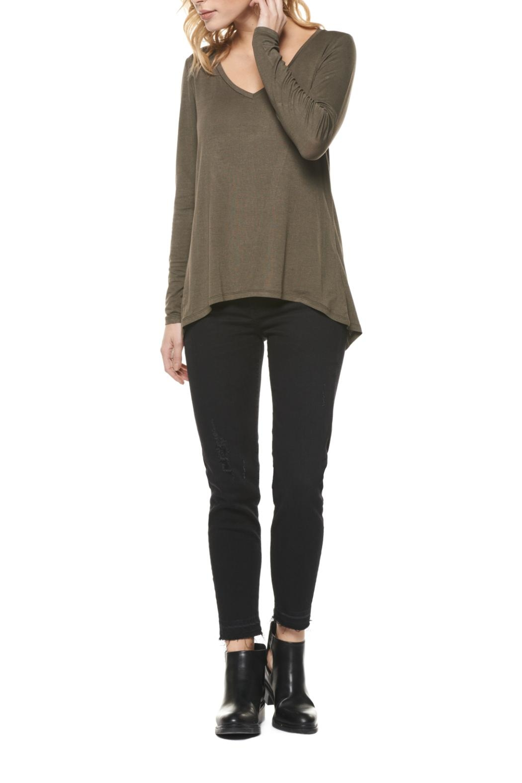 Dex Long Sleeve Top - Front Cropped Image