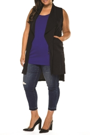 Dex Long Vest - Front cropped