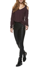 Dex Luna Leather Legging - Product Mini Image