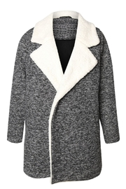 Dex Melange Sherpa Coat - Product Mini Image