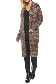 Dex Melange Sweater Coat - Product Mini Image
