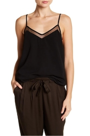 Dex Mesh Detail Cami - Front cropped