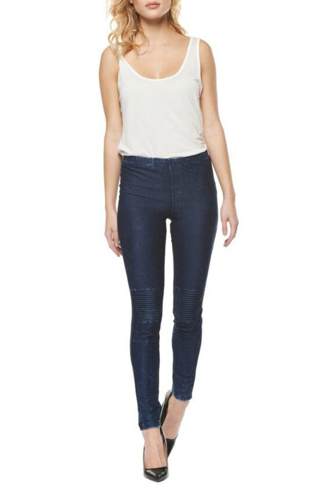 Dex Motto Legging - Front Cropped Image