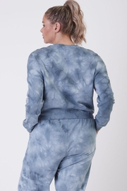 Dex Navy Tie Dye Set - Front full body