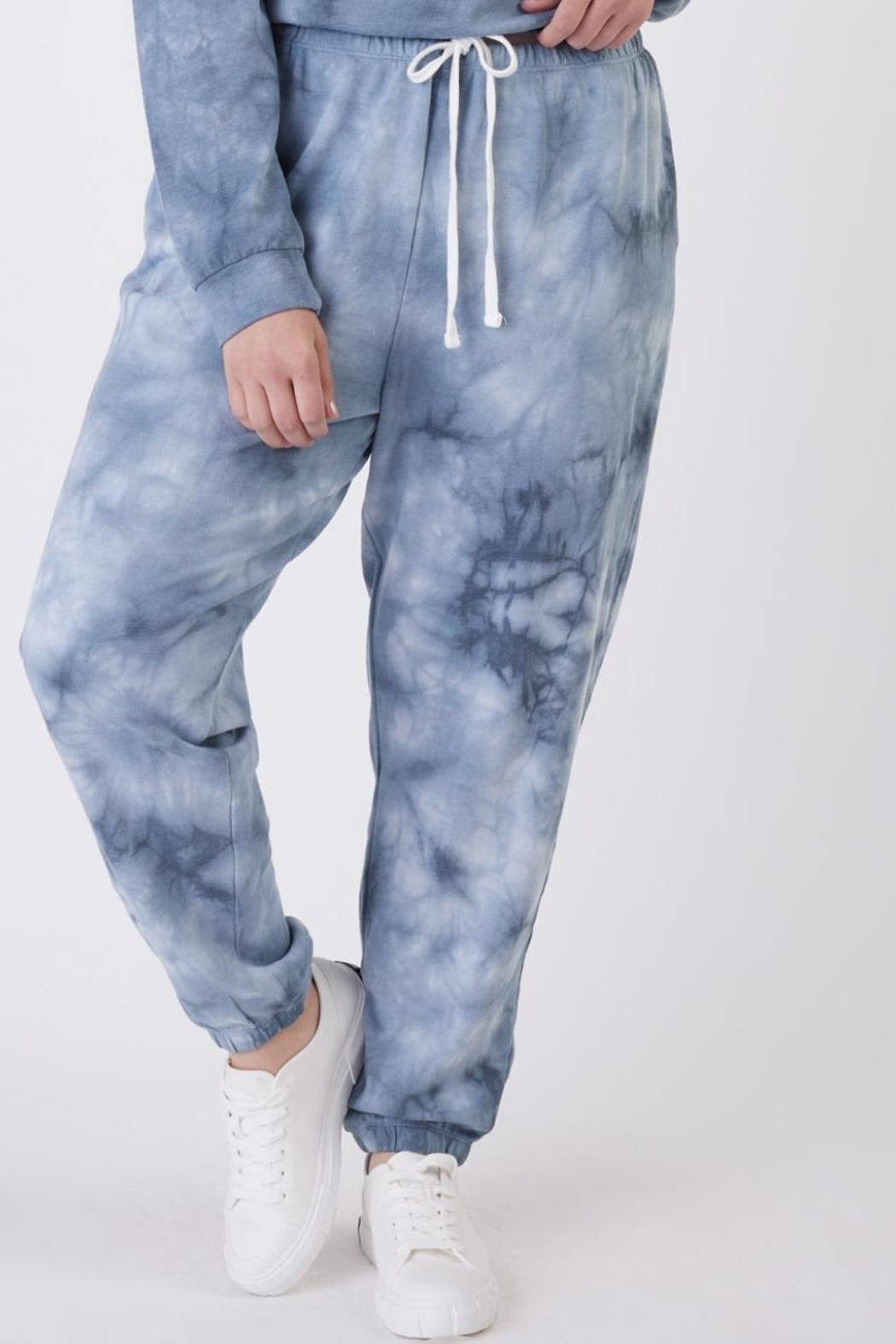 Dex Navy Tie Dye Set - Side Cropped Image