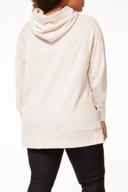 Dex Oatmeal Tunic Hoodie - Side cropped