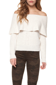 Dex Off The Shoulder Sweater - Product Mini Image