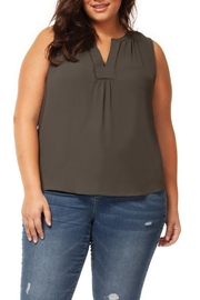 Dex Olive Blouse Tank - Product Mini Image