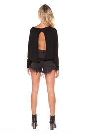 Dex Open Back Sweater - Product Mini Image