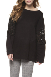 Dex Open Cable Sleeve Sweater - Product Mini Image