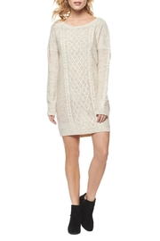 Dex Oversize Sweater Dress - Front cropped