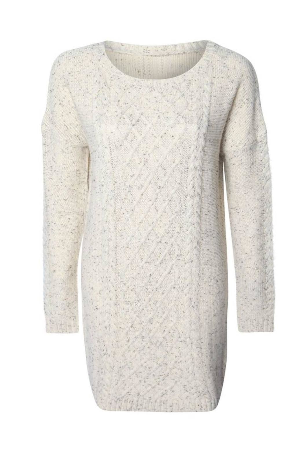 Dex Oversize Sweater Dress - Front Full Image