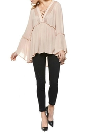 Dex Pink Boho Top - Product Mini Image