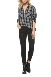 Dex Plaid Button Down Shirt - Front cropped