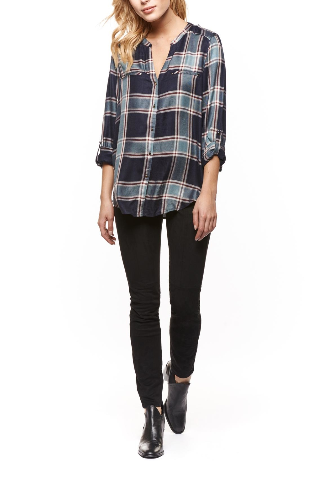 Dex Plaid Buttondown - Main Image