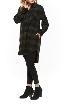 Shoptiques Product: Plaid Overshift Tunic Top