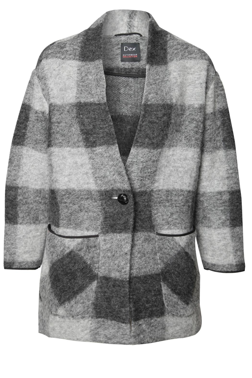 Dex Plaid Swacket - Main Image