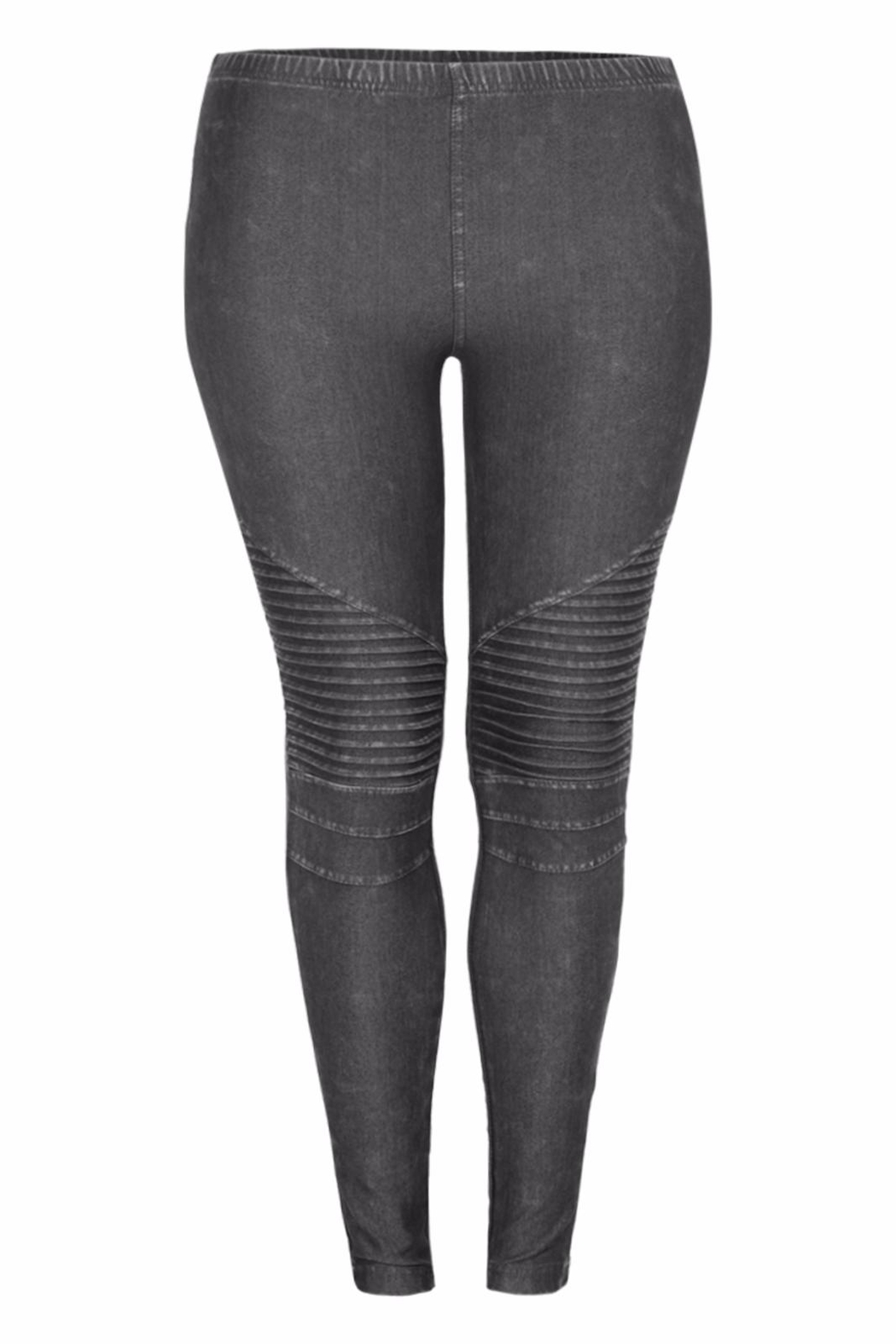 1adf67ee2f1828 Dex Plus Moto Leggings from Canada by LaBelle — Shoptiques