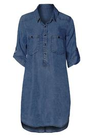 Dex Poketed Shirt Dress - Product Mini Image