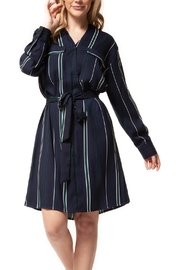 Dex Preppy Stripe Dress - Product Mini Image