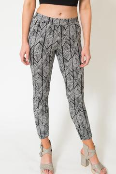 Shoptiques Product: Printed Elastic Pants