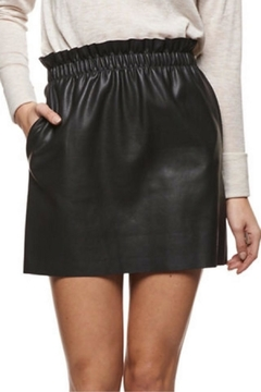 Shoptiques Product: Pull-On Faux-Leather Skirt