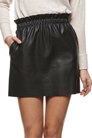 Dex Pull-On Faux-Leather Skirt - Product Mini Image