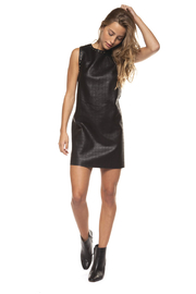Dex Quilted Stud Dress - Product Mini Image