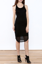 Dex Racerback Rib Dress - Product Mini Image