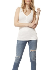 Dex Ribbed Henley Tank - Product Mini Image