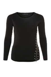 Dex Kayla Ribbed Sweater - Front cropped