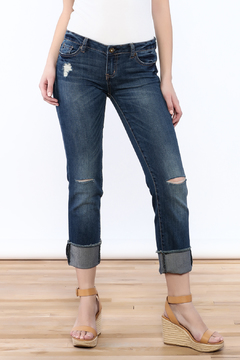 Shoptiques Product: Ripped Cuff Jean