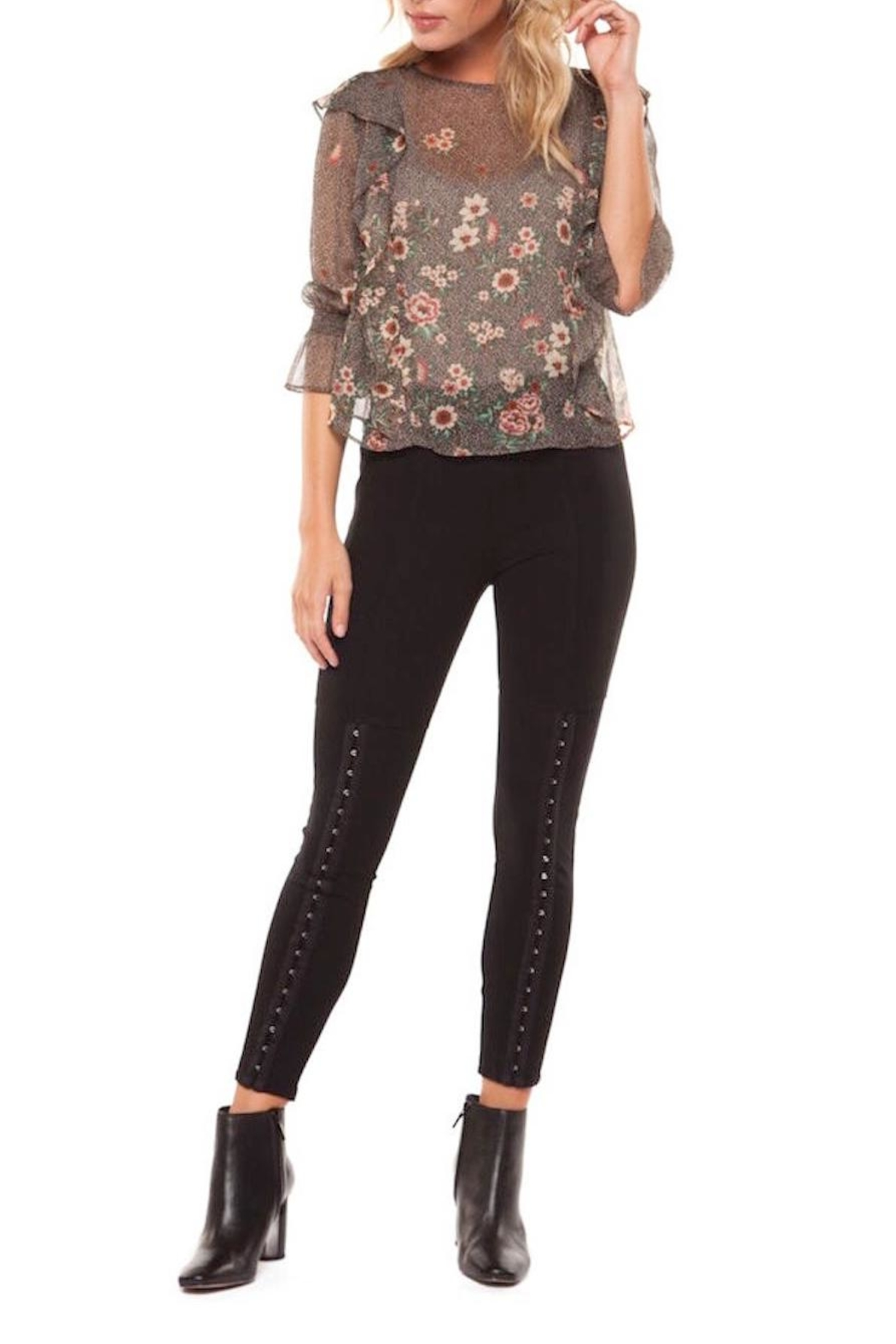 Dex Rosey Blouse - Front Cropped Image