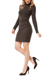 Dex Ruched Knit Dress - Product Mini Image