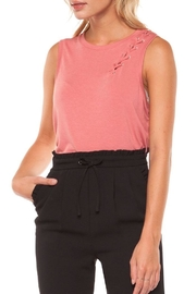 Dex Rustic Rose Tank - Front cropped