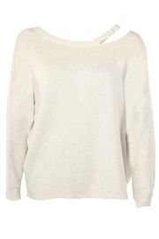 Dex Shoulder Accented Sweatshirt - Product Mini Image