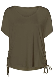 Dex Side Lace Up Top - Product Mini Image