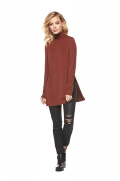 Shoptiques Product: Side-Split Turtleneck Tunic