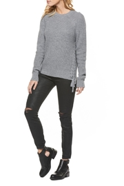 Dex Lace Up Sweater - Front cropped