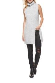 Dex Sleeveless Melange Sweater - Front cropped