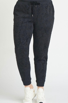 Shoptiques Product: Snake Print Jogger With Pockets