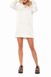Dex Spacedye Hoodie Dress - Front cropped